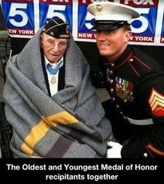 Oldest and Youngest Medal of Honor winners.