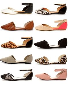 d'Orsay flats, also called two-piece flats, like the bikini of the shoe world… Cute Flats, Cute Shoes, Me Too Shoes, Keds, Shoe Boots, Shoes Sandals, Flat Shoes, Ballerinas, Mode Inspiration