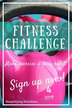 Make a lifestyle change and start working out with just 10 minutes a day. Click through to join a motivated group of ladies working towards health and wellness in 2017! Kaitlyn @ SimplifyingNutrit...