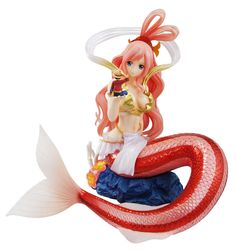 Figura One Piece. Shirahosi, MegaHouse P.O.P Excellent Model Sailing Again 22 cms Figura de 22.5cm, fabricada en plástico PVC, de la Princesa Shirahosi, personaje del manga-anime One Piece.
