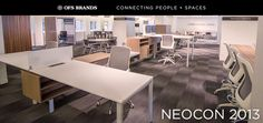 The OFS Brands has a beautiful line up of furniture that speaks the needs of every part of your office and collaborative spaces.  Wouldn't you like to work here?