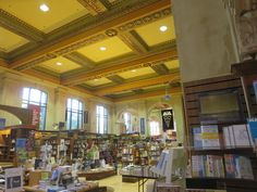 Koffler Student Center Bookstore - former TPL Central Library ceiling Carnegie Library, Library Boards, Central Library, University Of Toronto, Libraries, Public, Ceiling, Student, History
