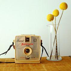 Vintage Imperial Satellite 127 Camera Beige  Box Camera  by vint, $32.00