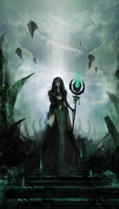 The Goddess of Mundane. She is the one who Protects the Goth Mundanes. She hates the happiness and color that the LightningFales have. She wants to destroy the Raven King and Queen Luna to rule over Island Calypso and have everyone fall at her feet.