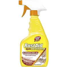 Goof Off Rust Stain Remover Bathroom Spray Gel, Multicolor Household Cleaning Supplies, House Cleaning Tips, Deep Cleaning, Cleaning Hacks, Cleaning Wipes, Cleaning Schedules, Weekly Cleaning, Cleaning Checklist, Cleaning Products
