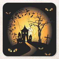 Halloween - Haunting Eyes Watching you 6 coasters