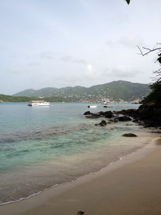 From Frenchman's Cove in St Thomas USVI