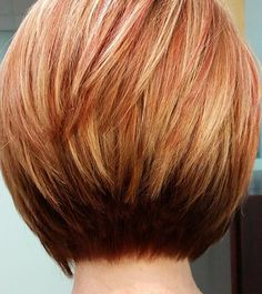 50 Chic Short Bob Hairstyles & Haircuts for Women in 2019 - Style My Hairs Stacked Haircuts, Short Bob Haircuts, Haircuts With Bangs, Wedge Hairstyles, Long Face Hairstyles, Hairstyles Haircuts, Short Hair Cuts, Short Hair Styles, Short Bob Cuts