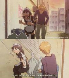 maid sama | LOL | don't go flipping skirt in broad daylight