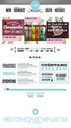 Cielito Querido Cafe | Website Design