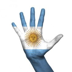 Argentina Flag, Flag Painting, White Background Photo, My Roots, Stock Foto, Hand Painted, Illustration, Creative, Collections