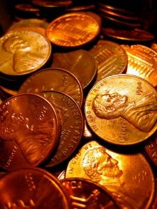 """pennies from heaven- My dad always told me """"Pennies make dollars"""", so when I see a penny on the ground it's a reminder of him & I save every one! Pennies From Heaven, Serenity Now, Think Happy Thoughts, Show Me The Money, Brown Eyed Girls, Copper Color, Copper Penny, Colour Board, Color Names"""