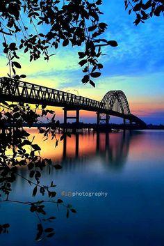 Jembatan Rumbai Indragiri Hilir    Indragiri Hilir - Riau - Sumatra - Indonesia