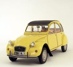 1979 Citroen 2CV... France's Beetle.