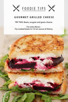 FOODIE TIPS : The ultimate gourmet sandwich.  #gourmet #foodie #foodporn