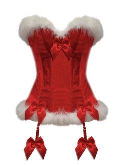 c9df3af5ab Lingerie Red Miss Santa Claus Christmas Chemises