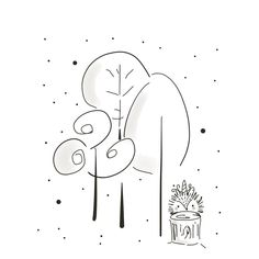 Black and White illustration of an Enchanted forest, with a magical Hedgehog. Whimsical illustration and design inspired around woodland creatures. Line drawing art, illustrations, line art, line drawings, woodland creatures • #linedrawing #childrenillustrator #childrenbookillustration #woodlandcreatures