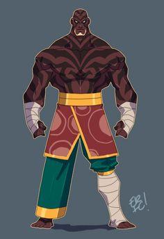 Tribal Warrior by *EricGuzman on deviantART.