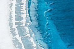 大自然的肌理——格陵兰岛。作者:Daniel Beltrá