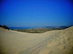 Joaquina beach dunes