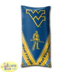 Northwest West Virginia Mountaineers Folding Body Pillow