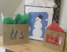 Save Those Store Shopping Bags, People! Here are Several DIY Budget-Friendly Holiday Gift Bag Ideas Cool Things To Buy, Things To Come, Diy On A Budget, Gift Bags, Paper Shopping Bag, Holiday Gifts, Budgeting, Upcycle, Easy Diy