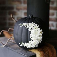 Happy Halloween Decor #DIY #NoCarve #Pumpkins