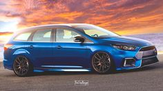 Focus RS Wagon Rendered as the Car Ford Should Build for Drifting Dads…