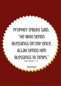 Oh allah send your Peace and Blessings upon prophet muhammad :)