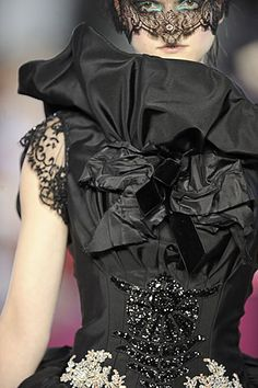 Christian Lacroix Fall 2008 Couture Details Slideshow on Style.com