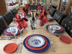 The Welcomed Guest: Old World Italian Dinner Tablescape