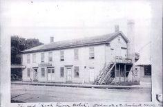 Caleb Blodgett Boarding House 1860 in Beloit, WI.