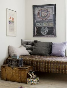 AN APARTMENT WITH BEAUTIFUL ART IN COPENHAGEN | THE STYLE FILES