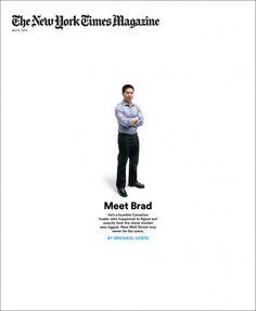 Meet Brad, New York Times Mag (US) #whitespace