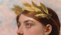 """detailsofpaintings: """" Jules Lefebvre, Allégorie de la Victoire (detail) 19th century """" Renaissance Kunst, Renaissance Paintings, Aesthetic Painting, Aesthetic Art, Character Aesthetic, Aesthetic Photo, Art Gay, Art Ancien, Poses References"""