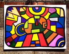"""Check out new work on my @Behance portfolio: """"Stained glass Summer""""…"""