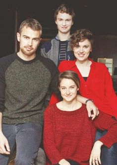 Theo, Shai, Ansel and Veronica