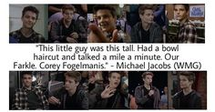 """#GirlMeetsWorld """"World Meets Girl"""" (Corey Fogelmanis' introduction at the beginning of the show)"""
