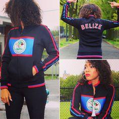 BELIZE Flag Jacket