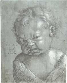 This baby can't even.   39 Renaissance Babies Who Can't Even