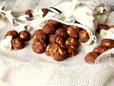 Kakaové špaldové sušenky s kešu ořechy a vanilkou – Na vlně chuti – Jitčiny Dobroty