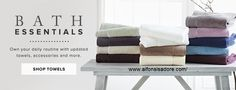 #Bath #Towels made from the finest quality and organic #cotton for those who wish to commission an exclusive selection of #towels.