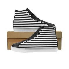 Black and White Stripes Honey Custom Light Up Men's Shoes — Foot Gear US Turn The Lights Off, Light Up Shoes, Different Light, Custom Lighting, Men S Shoes, Honey, Stripes, Black And White, Products