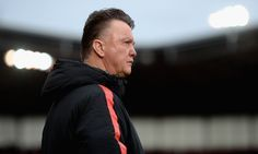 Manchester United boss Louis van Gaal surveys the pitch prior to his team's match with Stoke on 1 January Official Manchester United Website, Live Matches, Match Highlights, Man United, Team S, The Unit, Fraternity, Pitch, January
