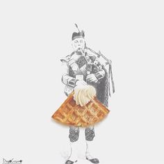 Diego Cusano @diego_cusano #kilt #waffle #diegocusano #picame