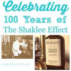 Nearly one hundred years ago in 1915, a young Dr. Forrest C. Shaklee took the initial step in creating what would become one of the first mu...