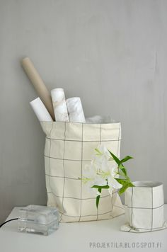 diy storage bag - projektila.blogspot.com
