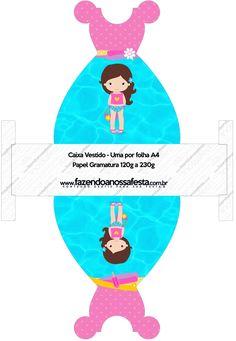 Caixa Vestido Pool Party Menina