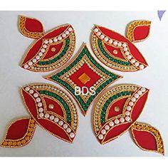 Diwali Decoration Items, Thali Decoration Ideas, Stone Crafts, Clay Crafts, Diwali Craft, Diwali Diya, Diwali Sale, Foam Board Crafts, Rangoli Designs Diwali