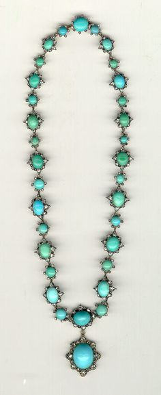 Antique turquoise necklace - Ive looked in so many jewellery shops..  cant seem to find this anywhere